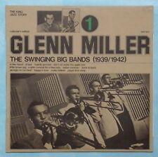 GLENN MILLER ~ SWINGING BIG BANDS VOL. 1 ~ 1974 ITALIAN 12-TRACK VINYL LP RECORD