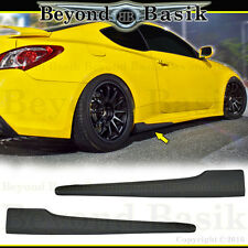 Fits 2010-2016 Hyundai Genesis Coupe 2pc NEFD Style Aero SIDE SKIRTS Body Kit