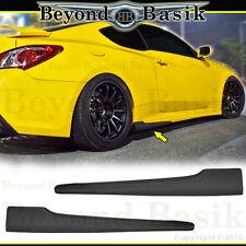 Fits 2010-2016 Hyundai Genesis Coupe 2pc NEFD Style Aero SIDE SKIRTS Body Kit