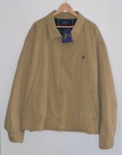 RALPH LAUREN Polo khaki brown jacket coat windbreaker 3X BIG 3XL 3XB XXXL