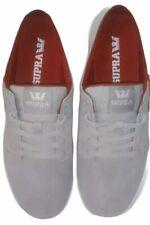 SUPRA Mens Sz 11.5 Canvas Skate Shoes