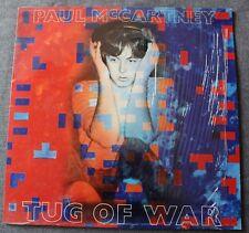Paul McCartney, tug of war, LP - 33 tours