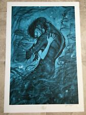 The Shape of Water Movie Poster James Jean Art Print Guillermo Del Toro Sci-Fi