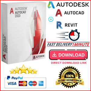Autodesk Autocad 2020 🔥Full Version ✅ Lifetime License⚡Windows📌Fast Delivery📨