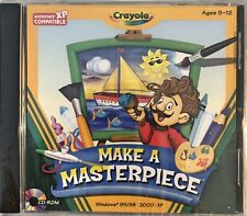Crayola Make A Masterpiece Pc Brand New XP