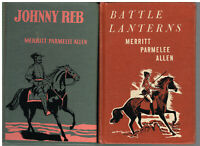 Set of 2 by Merritt Parmelee Allen Bottle Lanterns Johnny Rebel Books!