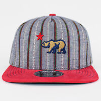 Stay Official - Embroidered Chambray And Red Cord Visor