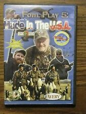 BUCK GARDNER'S FOWL PLAY #5 MADE IN THE USA DVD GOOSE DUCK HUNTING INSTRUCTION