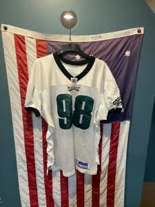 Game Used Mike Patterson Philadelphia Eagles 2005 Practice Jersey