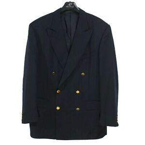 ERMENEGILDO ZEGNA Super 100's Men's Blazer Jacket Size XL IT52 UK42