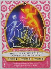 Disney Sorcerers Magic Kingdom Card 38 Sugar Plum Fairies Dewdrop Spiderweb New