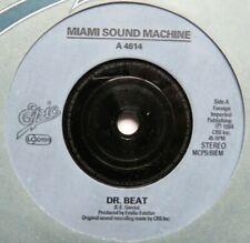 """MIAMI SOUND MACHINE - Dr Beat - Excellent Condition 7"""" Single Epic A 4614"""