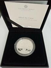 Only 2250 - Royal Mint 2021 Alfred the Great 1oz 999 Silver Proof Coin