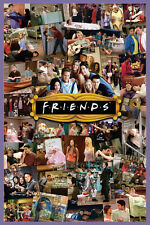 FRIENDS TV Poster - Episode Collage Full Size 24x36 Print ~ Aniston Schwimmer