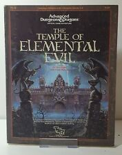 AD&D The Temple of Elemental Evil (TI-4) Campaign Book | Complete!
