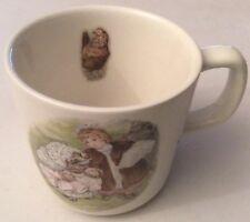"""WEDGWOOD Peter Rabbit suis RS Tiggy-Winkle Cup """"Diamètre 7.5 cm hauteur 7 cm"""