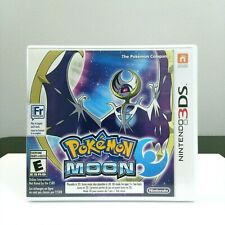 Pokemon Moon Nintendo 3DS Complete Authentic LOOK Free Shipping