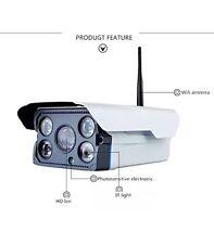 720P Wifi Wireless CCTV DVR IR-Cut al aire libre de seguridad para el hogar H265 Cámara IP CAM 64GB