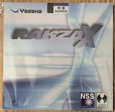 *NEW* Yaska Rakza X Table Tennis Rubber - Black - Max