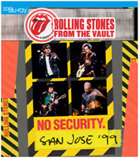 The Rolling Stones - From The Vault: No Security, San Jose 1999 (NEW BLURAY)