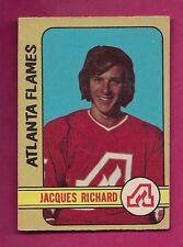 1972-73 OPC # 279 FLAMES JACQUES RICHARD  HIGH #  ROOKIE EX-MT CARD (INV# A013)