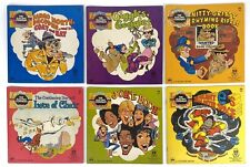 Vintage 1970s The Electric Company Children's Books Lot of 6 Silent E Jokes