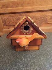 1996 Haddenham Fauna Garden Wooden Bird House