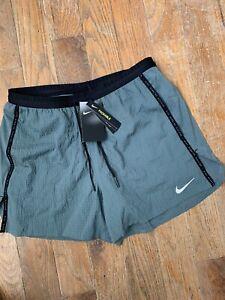 "Nike Flex Stride Run 5"" Running Shorts - Men's Small ~ $55.00 DA1300 387 Gray"