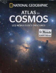 BEAU LIVRE ATLAS DU COSMOS, LES NEBULEUSES OBSCURES  / NATIONAL GEOGRAPHIC, NEUF