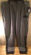 New NBA Joggers Zfx0179m Grey/Black Size 4XL