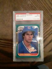 1987 Donruss Rookies Greg Maddux Chicago Cubs #52 Baseball Card PSA 9 Mint!