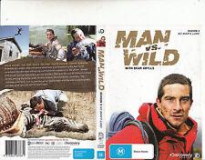 Man VS Wild-No Man's Land-2006/11-TV Series USA-Season 3-[2 Disc 260 Min]-DVD