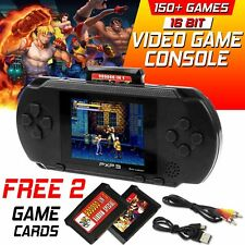 2019 Portable PXP3 Video Game Handheld Console 150+ Games Retro Megadrive 16 Bit