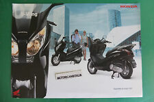 HONDA SCOOTER  S WING 150 DEPLIANT CATALOGO BROCHURE
