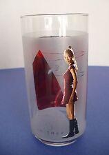 Star Trek Uhura Uss Enterprise Beverage Glass. 16 fl. oz. 2008
