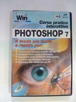 CD ROM I CORSI DI WIN MAGAZINE PHOTOSHOP VOL. 7 EDIZIONI MASTER ORIGINALE