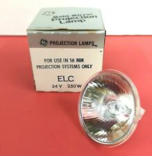 Lot of 2 ELC 250W 24V Photo Stage Projection LIGHT BULB Studio LAMP NOS NEW