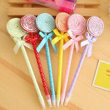 5x/lot Colorful Candy Pen Office Accessories Pen Cute Student School Pen  New.
