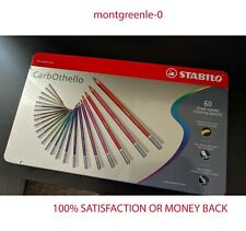 Stabilo Carbothello 60-Color Set Pastel Pencil - 100% All New + Freeshipping !