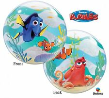 "Bubbles 22"" Qualatex Disney Pixar Finding Dory Balloon Official Licensed Helium"
