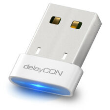 deleyCON USB 4.0 Bluetooth Adapter Stick - Plug & Play - EDR - Win 10 - bis 10m