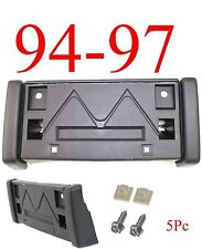 GM1068108 5Pc 94 97 Chevy S10 Front License Plate Bracket, Blazer, W/ Hardware