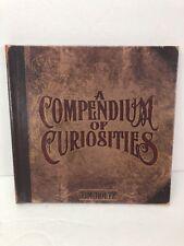 SIGNED Tim Holtz Book - A Compendium of Curiosities Volume One Crafting Create