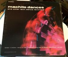 MACHITO DANCES Vinyl LP Record Salsa
