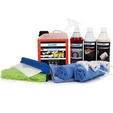 Autopflege SetB Autoshampoo, Felgenreiniger, Sprühversiegelung, Mikrofasertücher