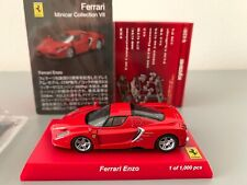 Kyosho Ferrari Enzo Red 1/64 scale Minicar Collection VII Memorial of 10000 cars