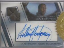 Star Trek Enterprise Archives 2 Anthony Montgomery Autograph Relic Card