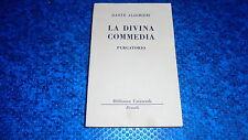 DANTE ALIGHIERI:LA DIVINA COMMEDIA.PURGATORIO.BUR RIZZOLI N.55/56.SETTEMBRE 1949