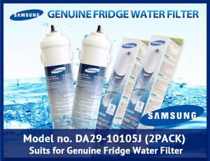 2 x Original Genuine  Samsung DA29-10105J Water Fridge Filter