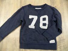 H&M LOGG cooles leichtes Sweatshirt blau Gr. 98/104 TOP DD1017